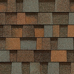Гибкая черепица Owens Corning Duration designer AR AGED COPPER